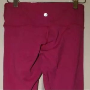 Lululemon Reversible WonderUnder Pink & Black 4